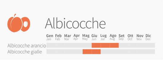 Calendario Maturazione Albicocche.Albicocche